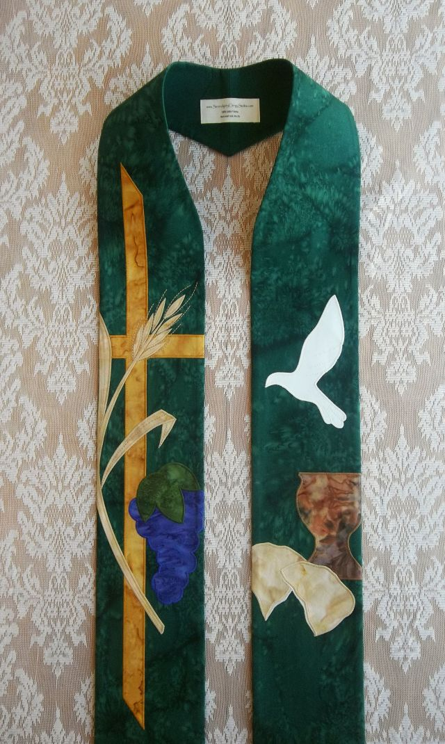 Green Clergy Stoles