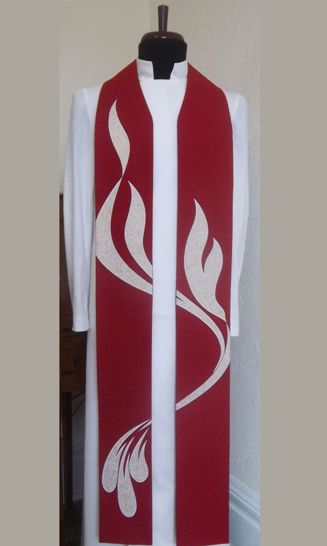 Red Clergy Stoles