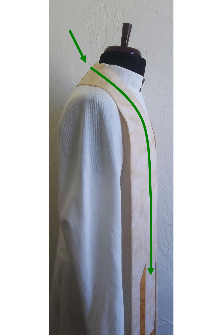 Measure for a Clergy Stole