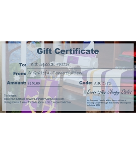 Serendipity Clergy Stoles Gift Certificate