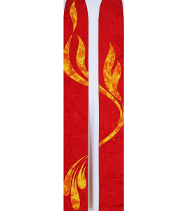 A Rushing and Mighty Wind: Red Batik Clergy Stole Celebrating the Movement of the Holy Spirit in the Church