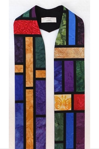 Cathedral Windows: Clergy Stole for Every Season