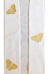 We Shall be Changed in the Twinkling of an Eye! Easter Clergy Stole with Butterflies