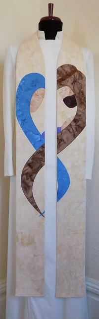 Wrapped in Love: Christmas Clergy Stole Embracing the Humanity of the Incarnation